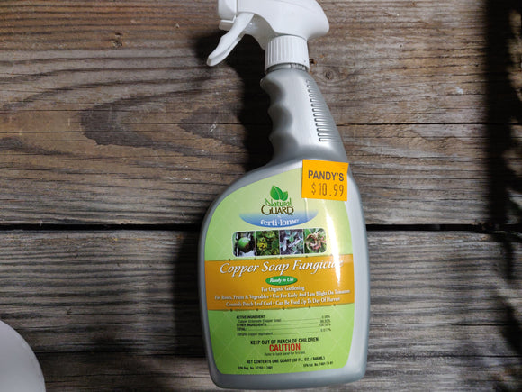 Natural Guard: Copper Soap Fungicide