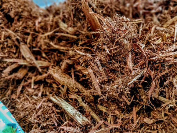 Red Cedar Mulch - Bagged 2 Cubic Ft. Bag