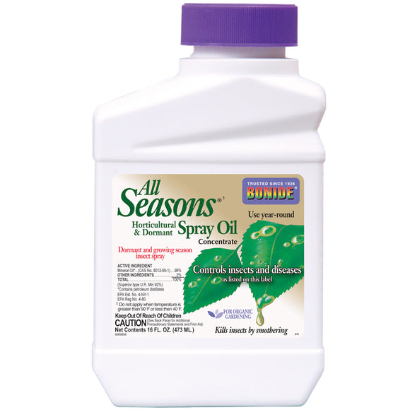All Seasons Horticultural & Dormant Spray Oil