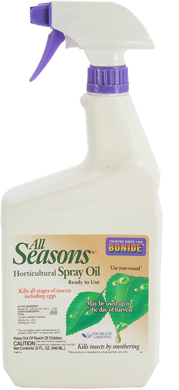 All Seasons Horticultural Spray Oil 32 fl oz