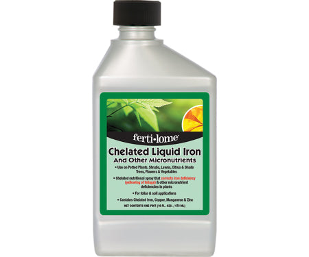 Chelated Liquid Iron and Other Micronutrients (16 oz.)