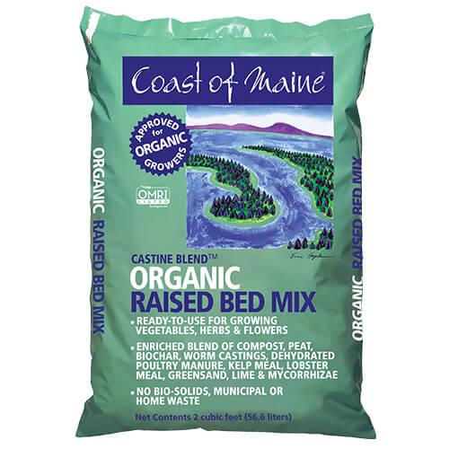 Castine Blend Organic Raised Bed Mix (2 cubic foot)