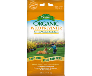Organic Weed Preventer Plus Lawn Food 9-0-0 (25 lb.)