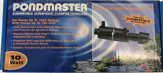 Pondmaster Submersible Ultraviolet Clarifier/Sterilizer