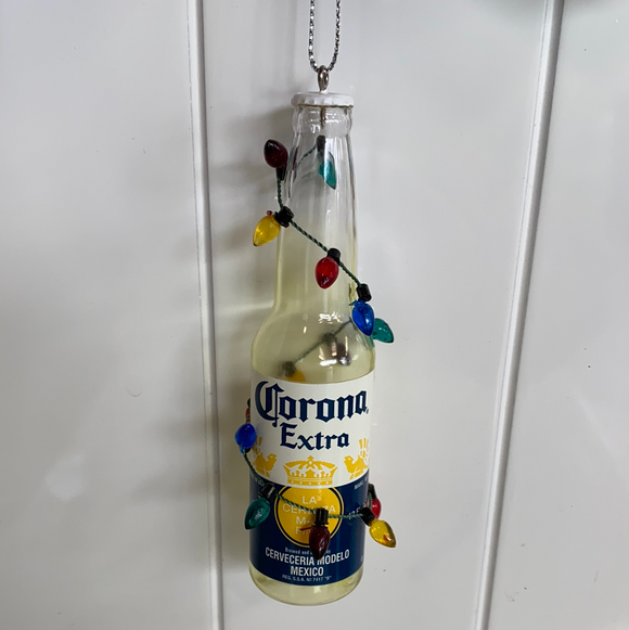 Nautical section ornament corona beer bottle