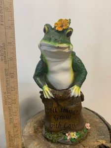 Frog- All Things Grow With Love