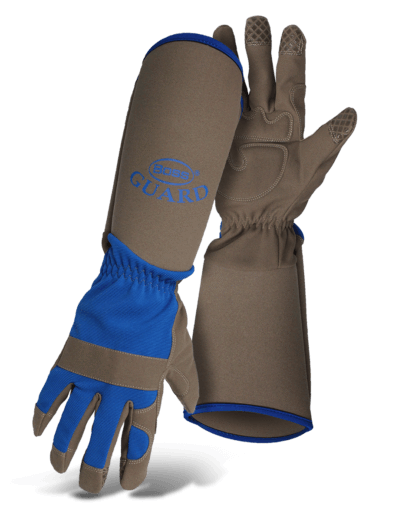 EXTENDED SLEEVE SYNTHETIC LEATHER GLOVES