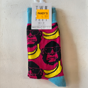 Funky monkey socks small feet