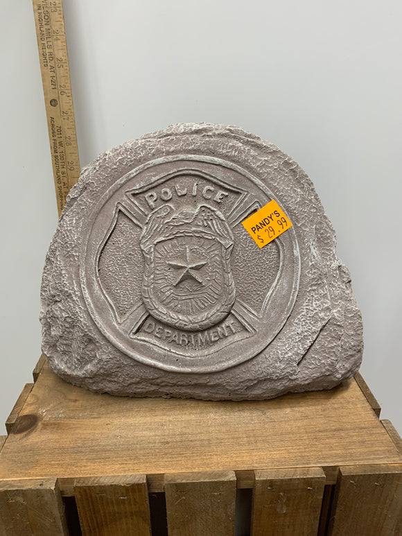 Police Department Rock