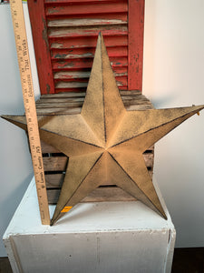 Metal rustic star