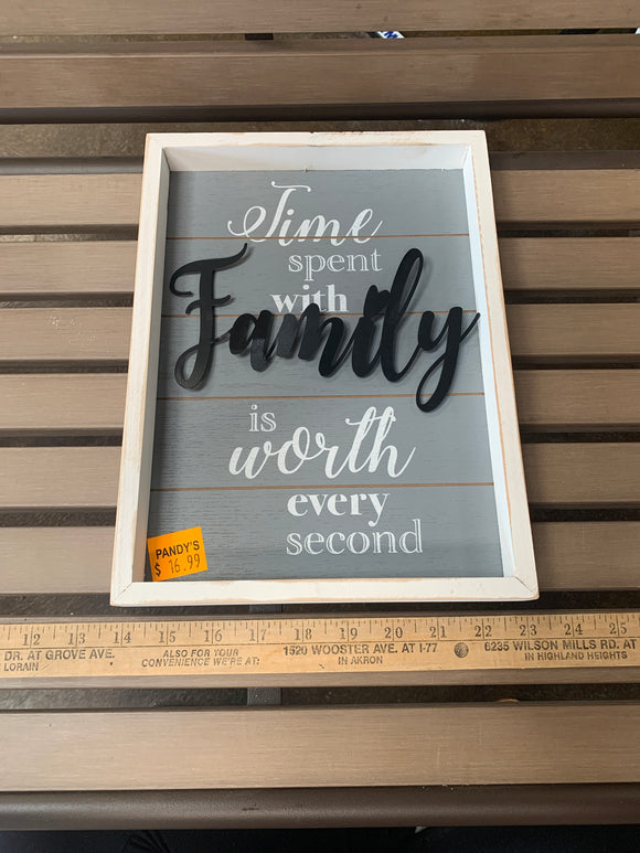 Sign: Time Spent With...