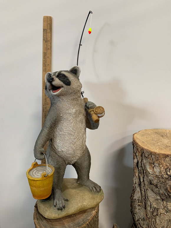 Fishing Raccoon