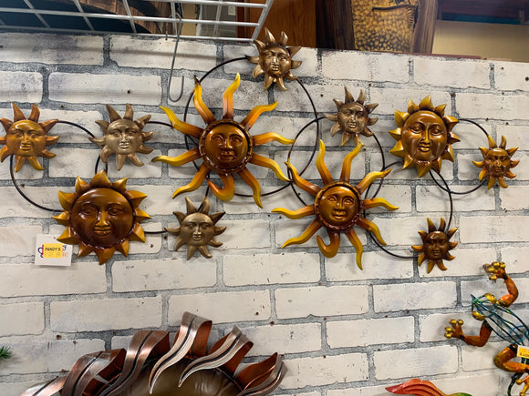 Multiple Sun Faces