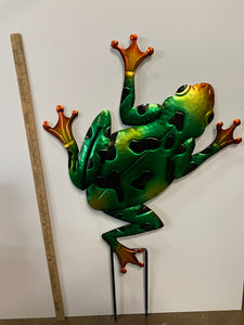 Frog- Large Yard Sticker
