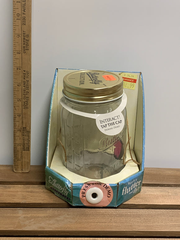 Interactive Butterfly Jar