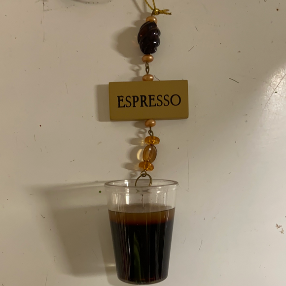 "Holiday Candy Section Ornament 5"" Espresso"