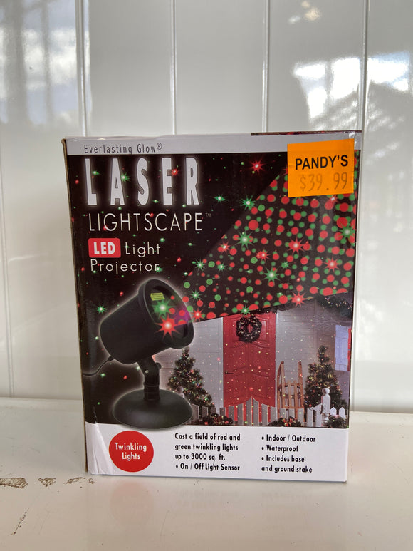 Holiday Light Laser Lightscape LED Red and Green