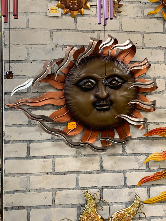 Copper-Like Sun Face