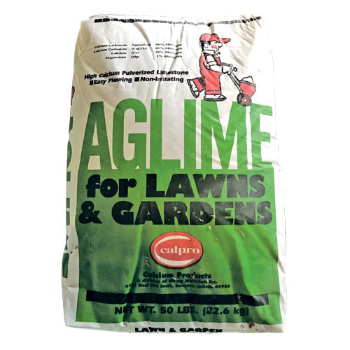 Aglime For Lawns and Gardens