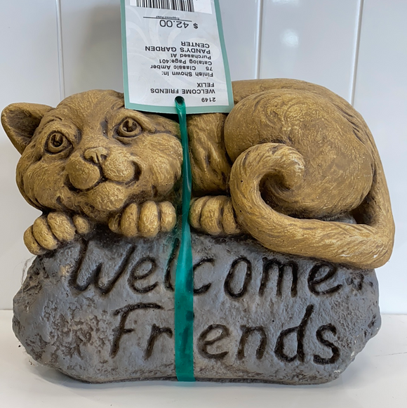 Welcome friends Garden accent