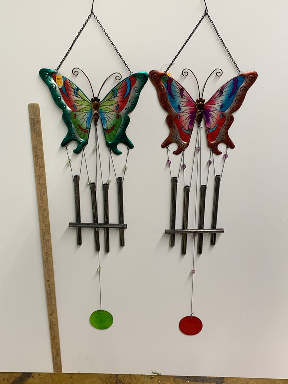 Metal Butterfly Chime