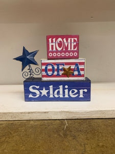 Sign: Home Of A Soldier