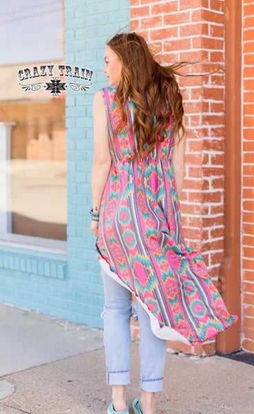 Hi & Low Tank Tunic dress