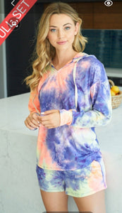 2 Pc. Tye Dye set