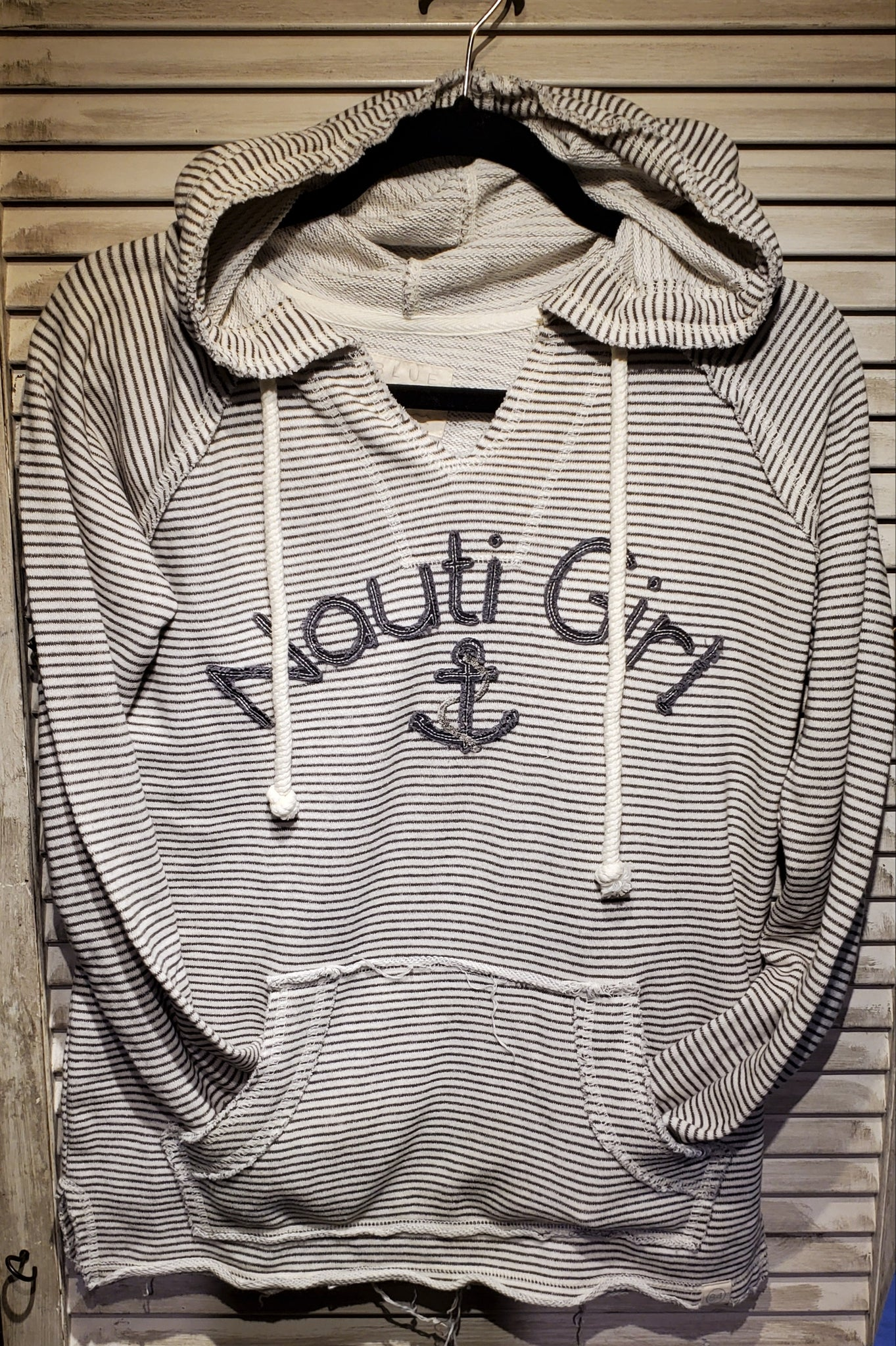 Nauti Girl Anchor Hoody