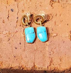 Turquoise Alchemia Earrings