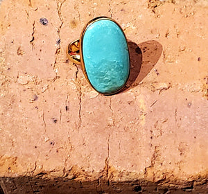 Turquoise Adjustable Alchemia Ring