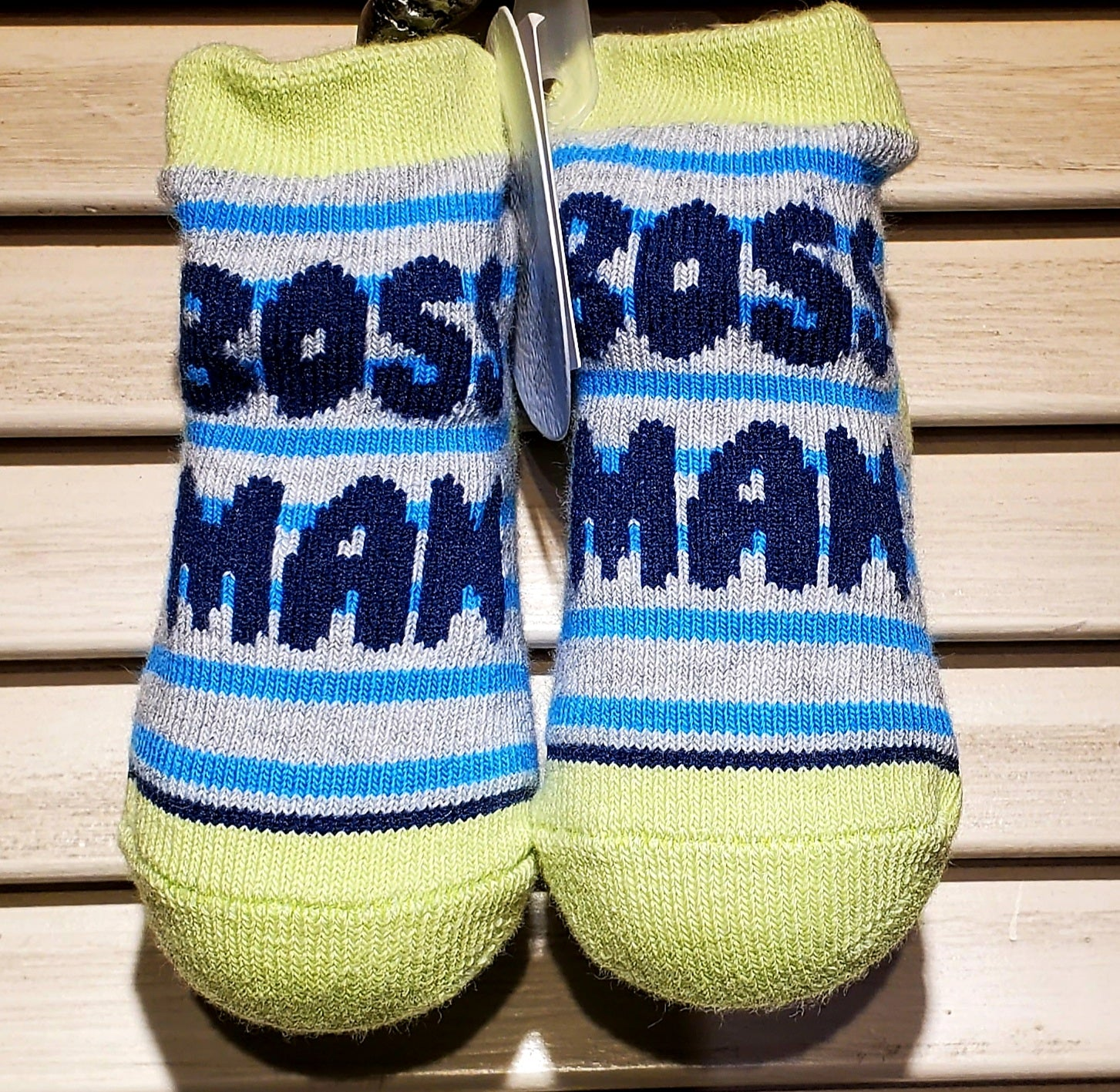 Infant Boss Man Socks