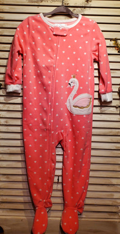 Swan Fleece Onesie
