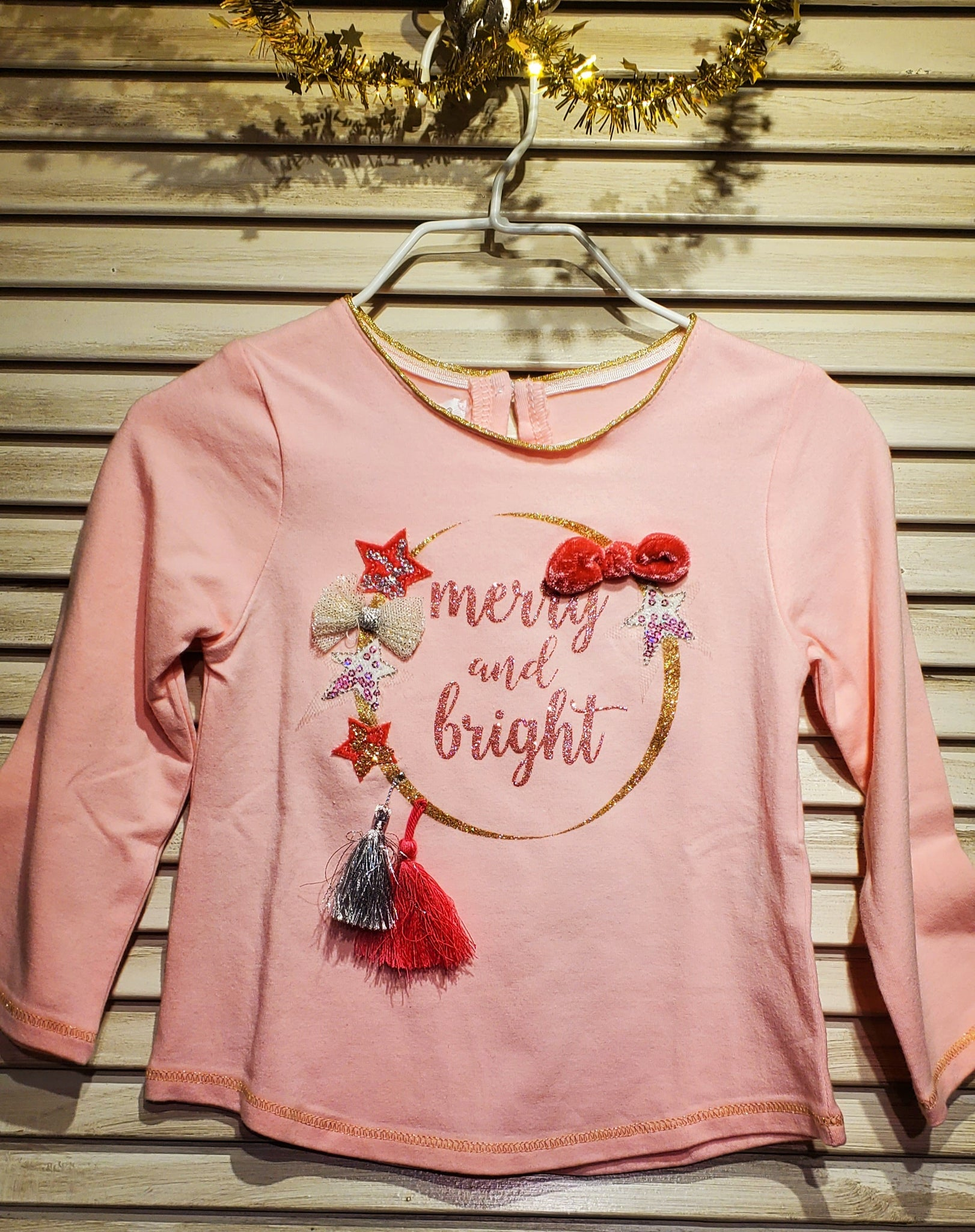 Merry Bright Sparkle Tee