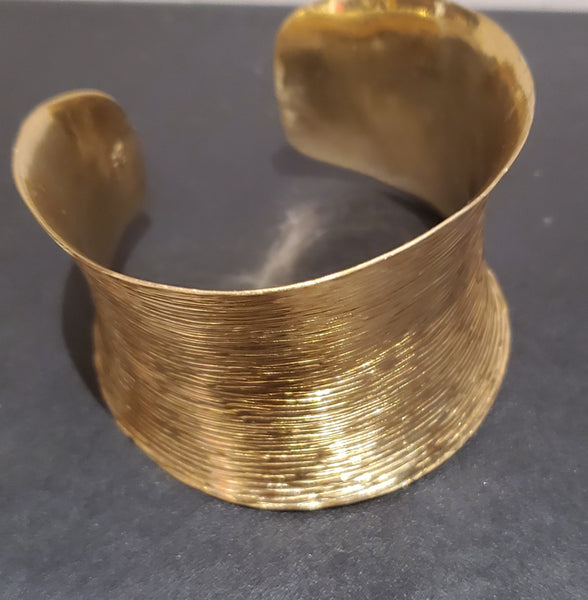 Alchemia Cuff Style Hammered Bracelet