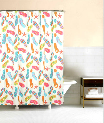 Flip Flop Shower Curtain