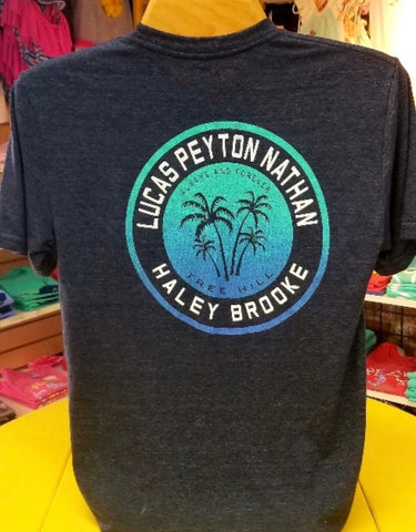 Always and Forever Tree Hill Palm tree Tee