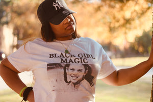 BLACK GIRL MAGIC Unisex Short-Sleeve T-Shirt