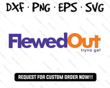 flewed out fedex logo