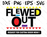 flewed out svg
