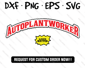 Auto Plant Worker svg