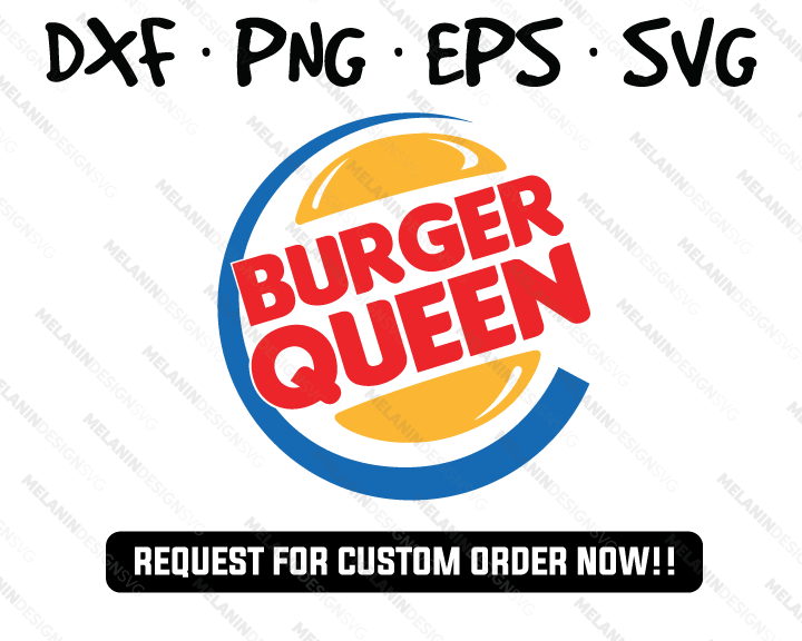 Burger Queen Burger King svg