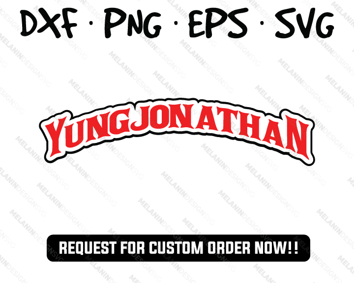 Yung Jonathan Backwoods Cigars Logo free svg