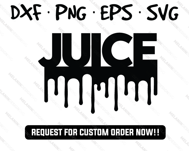 Juice Dripping free svg