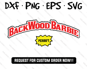 Backwood Barbie Backwoods Cigar Free SVG