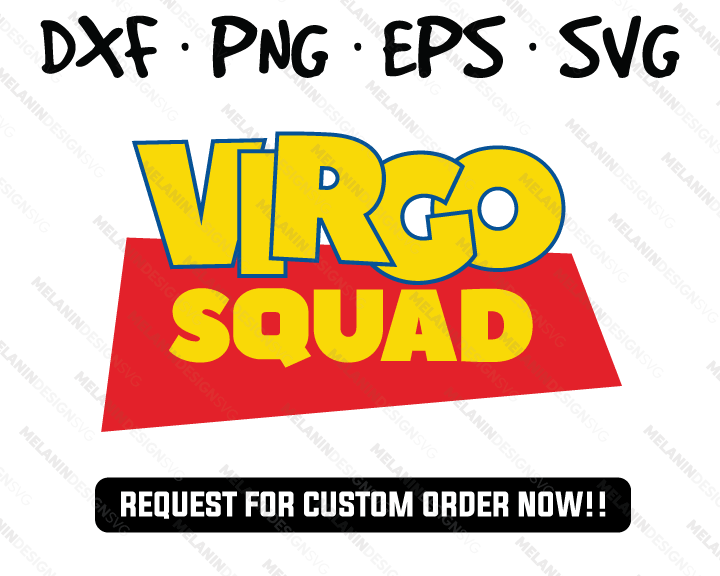 Virgo squad svg