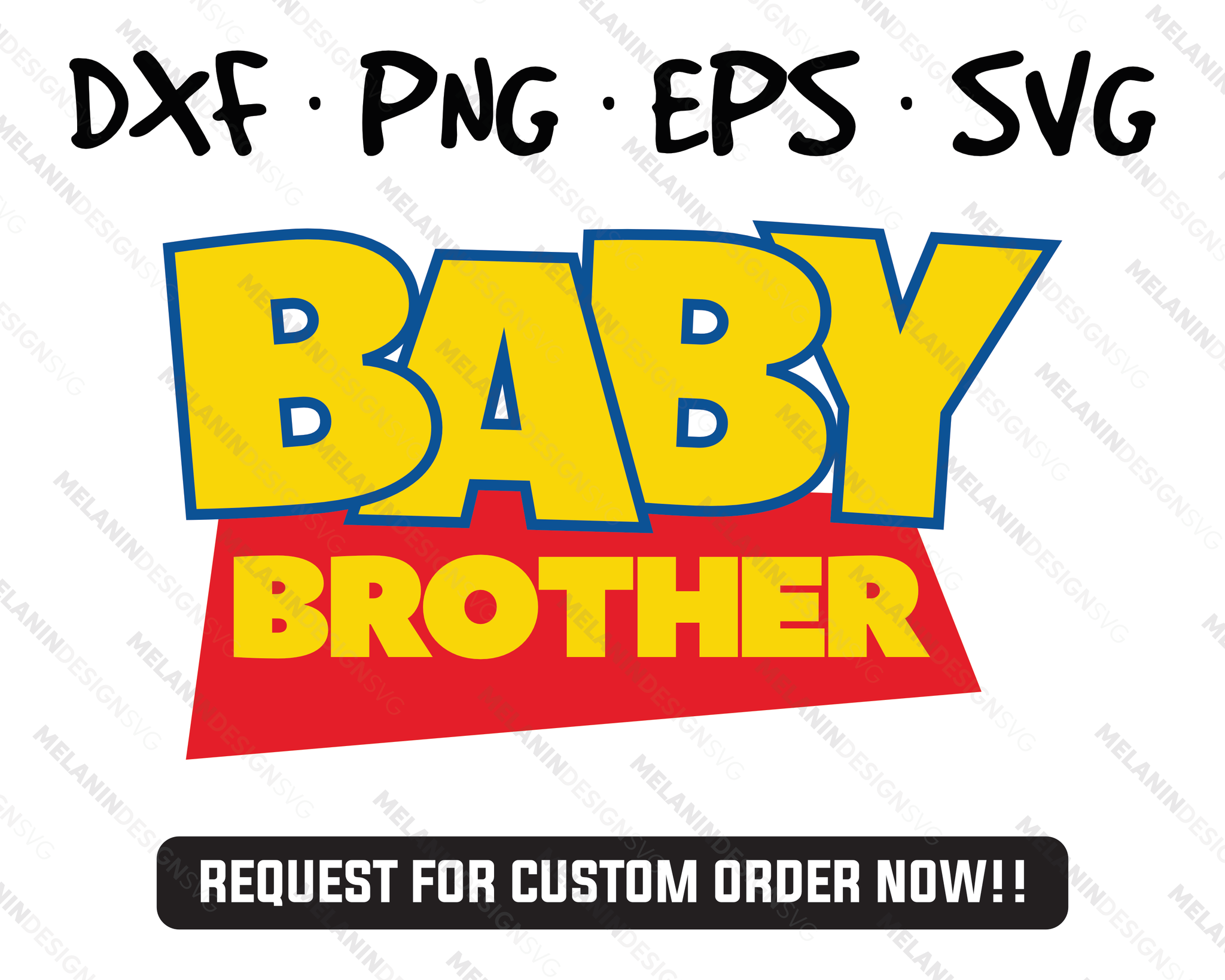 Baby Brother svg