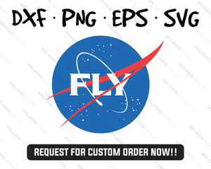 Fly nasa svg