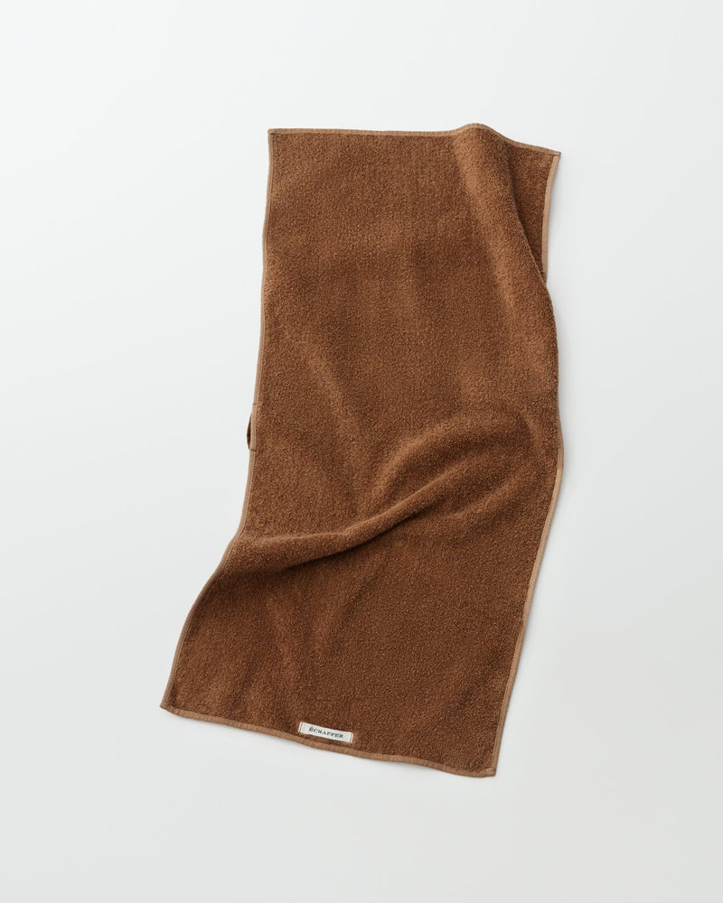 Brown_cotton_japanese_face_towel