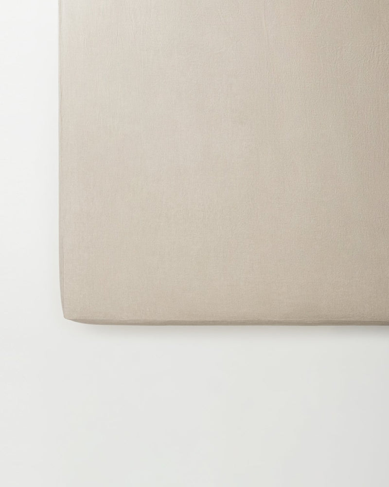 Raw_smooth_linen_fitted_sheet